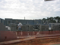 Construction of New Sanctuary